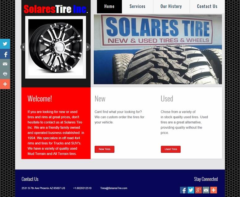 SolaresTire.com